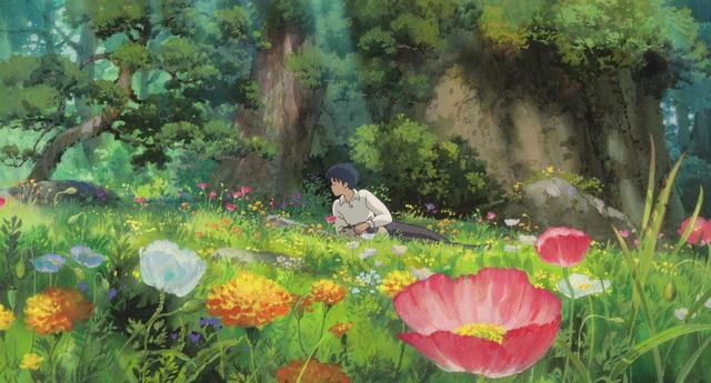 Các cảnh phim nổi tiếng của Studio Ghibli trông như thế nào ngoài đời thực? - Ảnh 1.