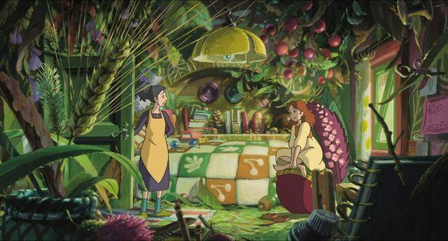 Các cảnh phim nổi tiếng của Studio Ghibli trông như thế nào ngoài đời thực? - Ảnh 2.