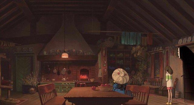 Các cảnh phim nổi tiếng của Studio Ghibli trông như thế nào ngoài đời thực? - Ảnh 4.