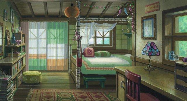 Các cảnh phim nổi tiếng của Studio Ghibli trông như thế nào ngoài đời thực? - Ảnh 7.