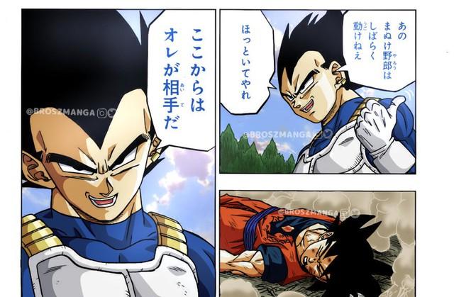 Dragon Ball Super chap 73 chứng kiến màn Vegeta gáy to đòi xóa sổ kẻ sống sót Granola - Ảnh 3.