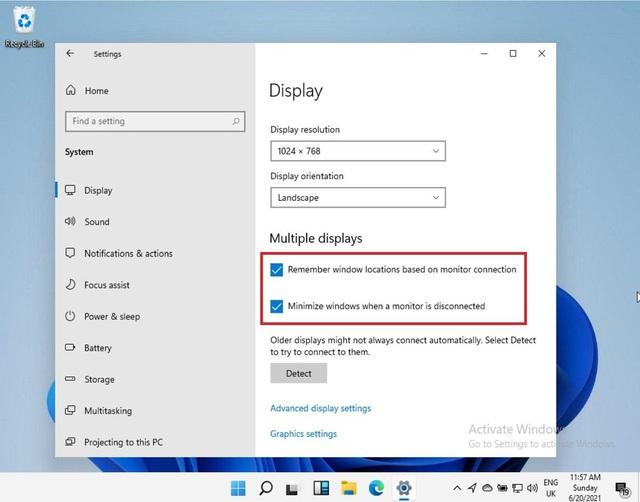 Nhờ Windows 11, bạn sẽ không còn khốn khổ thiết lập PC nhiều màn hình nữa - Ảnh 1.