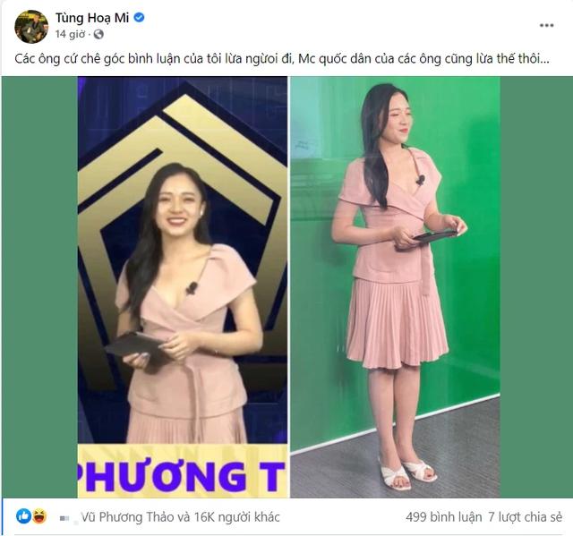 """Caster Tùng Họa Mi """"đốt nhà"""" MC hot nhất Liên Quân, Facebook của Phương Thảo sáng nhất đêm qua - Ảnh 1."""