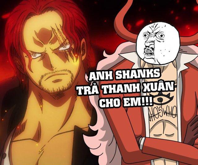 One Piece: Top 5 ảnh chế hot nhất tuần qua, Who Who và lời khẩn cầu Anh Shanks hãy trả lại thanh xuân cho em - Ảnh 5.