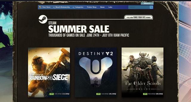 Sự kiện Steam Summer Sale 2021 diễn ra với hàng loạt bom tấn AAA giảm giá siêu sốc - Ảnh 1.