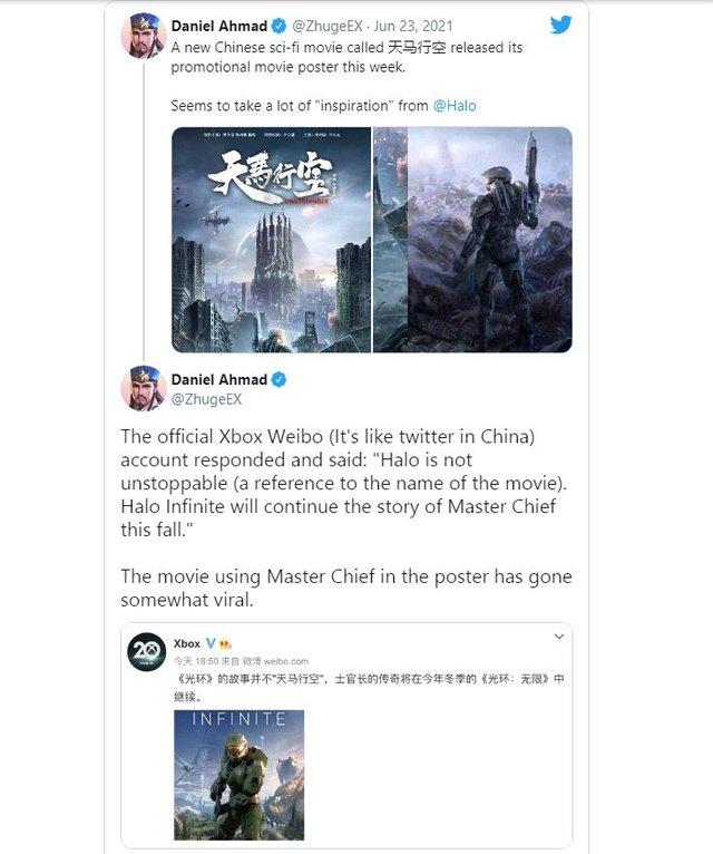 Cộng đồng game thủ tức giận khi thấy một bộ phim Trung Quốc giống y hệt bom tấn Halo Infinite - Ảnh 3.