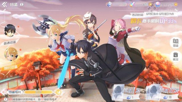 """Nóng! Trên tay nhanh bom tấn MMORPG Sword Art Online """"chính chủ"""" thế giới mở vừa ra mắt trên Mobile - Ảnh 8."""