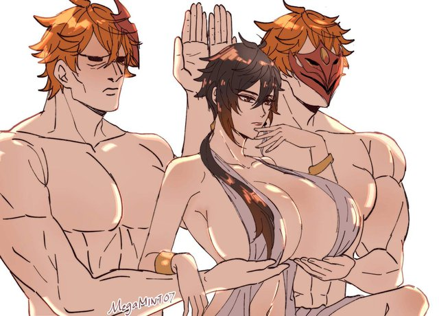 Thích thú với loạt meme Aphrodite nâng ngực trong anime Record Of Ragnarok, càng ngắm càng mát vào ngày hè - Ảnh 2.