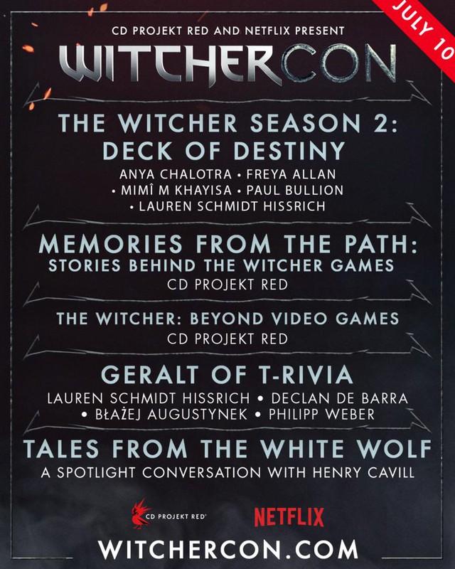 Netflix công bố lịch chiếu chính thức của WitcherCon, sự kiện đáng mong chờ nhất dành cho các fan của The Witcher - Ảnh 1.