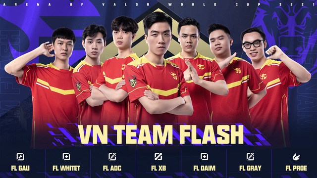 HOT: FL thay đổi lớn về đội hình chính thức tại AWC 2021, nhân tố mới từng bón hành cả 5 người Team Flash - Ảnh 1.