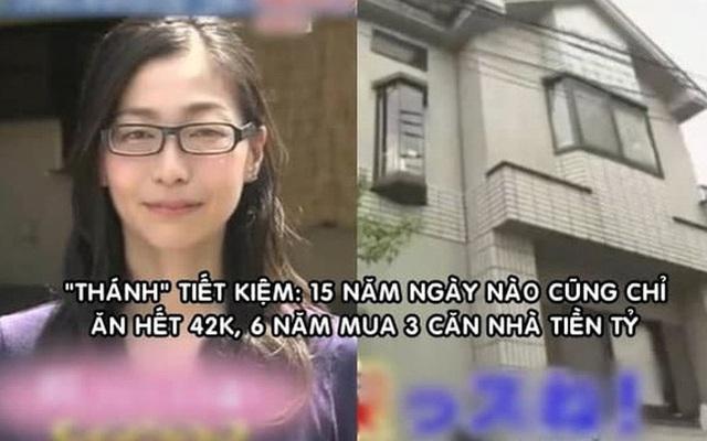 Cô gái tiết kiệm nhất Nhật Bản: 15 năm ngày nào cũng chỉ ăn hết 42.000 đồng, 6 năm mua 3 căn nhà tiền tỷ - Ảnh 1.