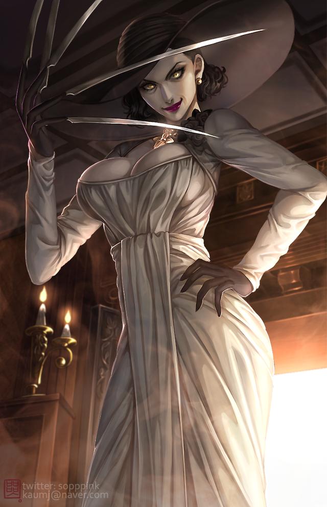 Tuyển tập hình nền cực đẹp chủ đề Resident Evil Village - Ảnh 2.