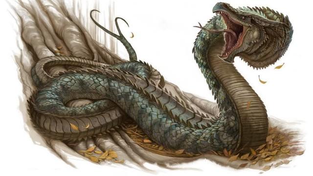 Những điều chưa biết về Basilisk, loài tử xà quái vật tàn sát nhân loại chỉ bằng ánh nhìn - Ảnh 1.