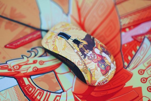 Mê mẩn trước vẻ đẹp của chuột gaming chất lừ trong bộ E-DRA Lạc Hồng - Ảnh 1.