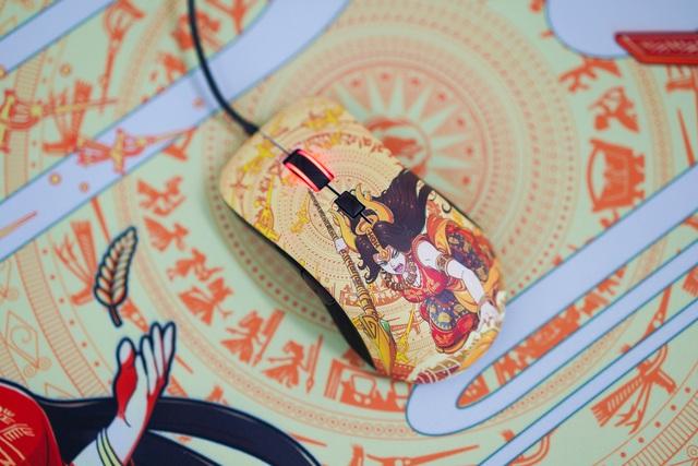 Mê mẩn trước vẻ đẹp của chuột gaming chất lừ trong bộ E-DRA Lạc Hồng - Ảnh 4.
