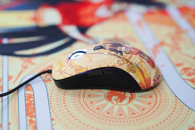 Mê mẩn trước vẻ đẹp của chuột gaming chất lừ trong bộ E-DRA Lạc Hồng - Ảnh 2.