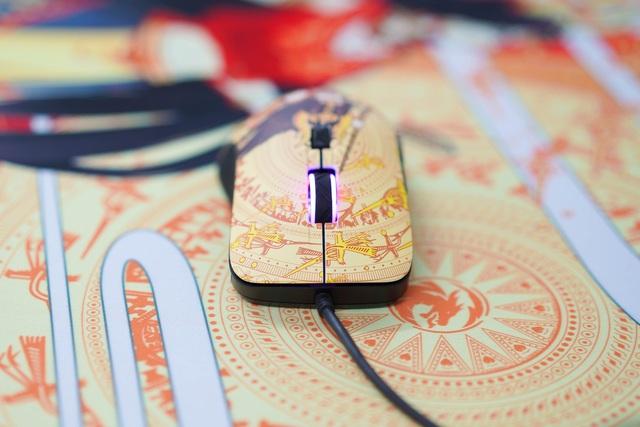 Mê mẩn trước vẻ đẹp của chuột gaming chất lừ trong bộ E-DRA Lạc Hồng - Ảnh 5.