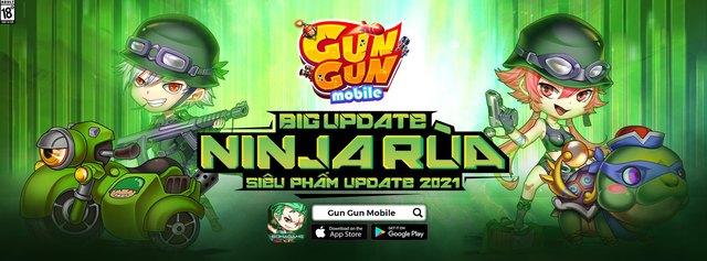 Gun Gun Mobile công bố landing đặc biệt mừng Big Update, tiếp tục phát lương cho game thủ toàn server - Ảnh 1.