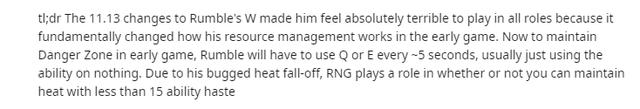 LMHT: Riot bị cộng đồng chỉ trích nặng nề khi biến Rumble thành tướng phụ thuộc vào nhân phẩm - Ảnh 3.