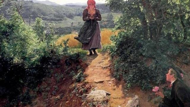 Săm soi tranh vẽ từ năm 1860 phát hiện nhân vật chính cầm một thứ rất giống iPhone - Ảnh 1.