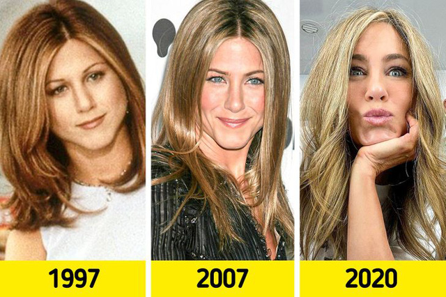 Dàn sao Hollywood đã thay đổi kiểu tóc thế nào kể từ khi xuất hiện lần đầu tiên trên màn ảnh rộng - Ảnh 1.