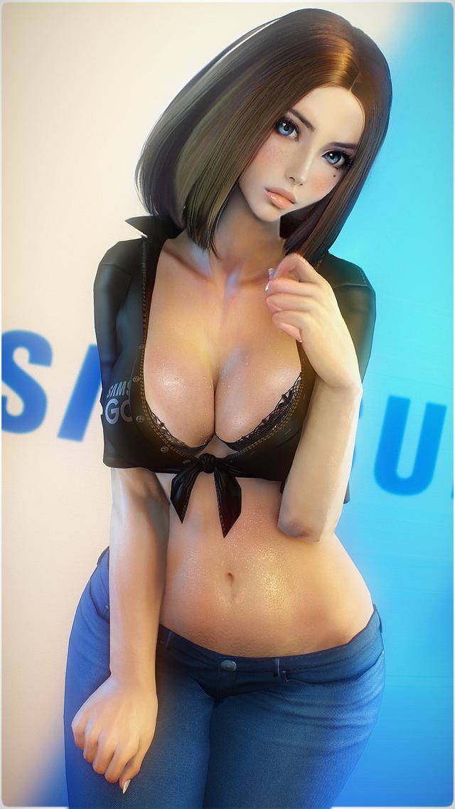 Rất nhanh chóng, trợ lý ảo mới của Samsung trở thành nữ chính trong tựa game 18 nổi tiếng - Ảnh 1.