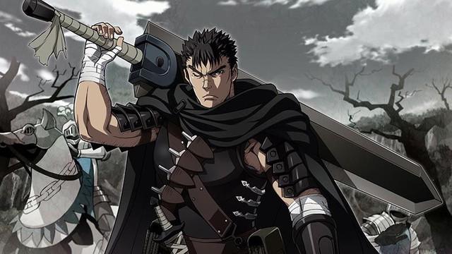 6 hắc kiếm sĩ mạnh nhất trong anime, Guts trong Berserk vẫn là tượng đài khó bị xô đổ - Ảnh 6.