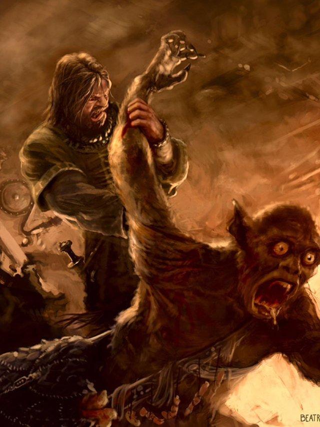 Truyền thuyết về người anh hùng Beowulf trong sử thi cổ của nước Anh - Ảnh 3.