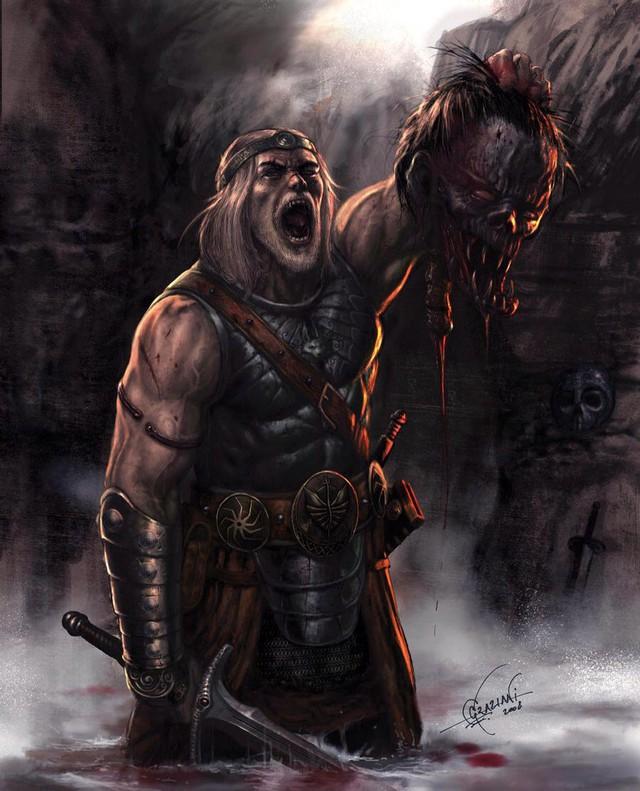 Truyền thuyết về người anh hùng Beowulf trong sử thi cổ của nước Anh - Ảnh 4.