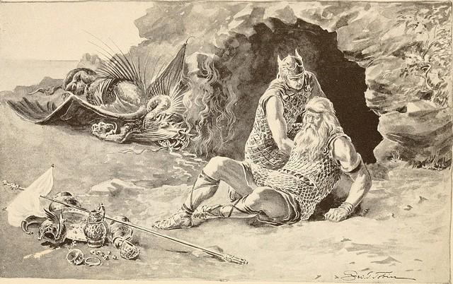 Truyền thuyết về người anh hùng Beowulf trong sử thi cổ của nước Anh - Ảnh 5.