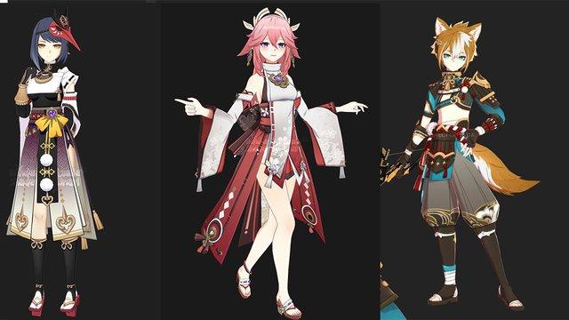 Genshin Impact: Tất tần tật những nhân vật mới bị rò rỉ bởi miHoYo và các leaker - Ảnh 3.