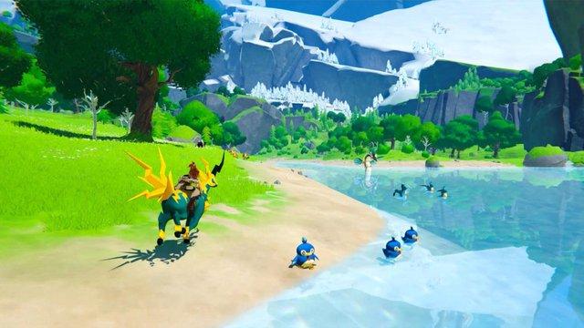 Xuất hiện tựa game phiêu lưu sinh tồn kết hợp giữa Breath of the Wild và Pokémon - Ảnh 1.