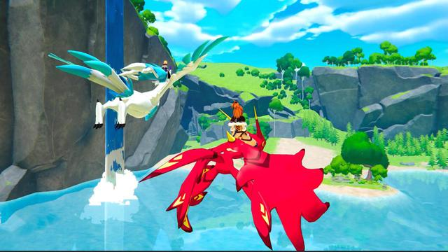 Xuất hiện tựa game phiêu lưu sinh tồn kết hợp giữa Breath of the Wild và Pokémon - Ảnh 2.