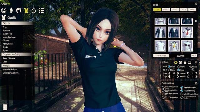 Nàng trợ lý ảo Samsung xuất hiện trong tựa game 18+ Honey Select 2 - Ảnh 1.