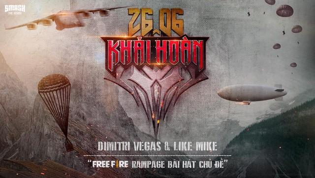 Garena Free Fire: Sự kiện Ngày Khải Hoàn cùng màn hợp tác với bộ đôi DJ Dimitri Vegas & Like Mike - Ảnh 1.