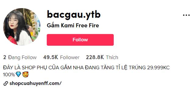 """Fake tài khoản của hot girl bida, kẻ gian """"hút"""" lượng follow lớn, ngang nhiên """"xài chùa"""" ảnh chính chủ rao bán acc game - Ảnh 2."""