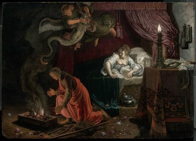 Asmodeus: Hoàng tử địa ngục khét tiếng tàn độc, sát hại cả 7 đời chồng của crush - Ảnh 4.