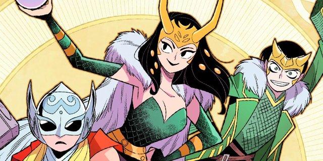 Điểm mặt 4 phiên bản ông hoàng lừa đảo Loki ấn tượng nhất từng xuất hiện trong Marvel Comics? - Ảnh 1.