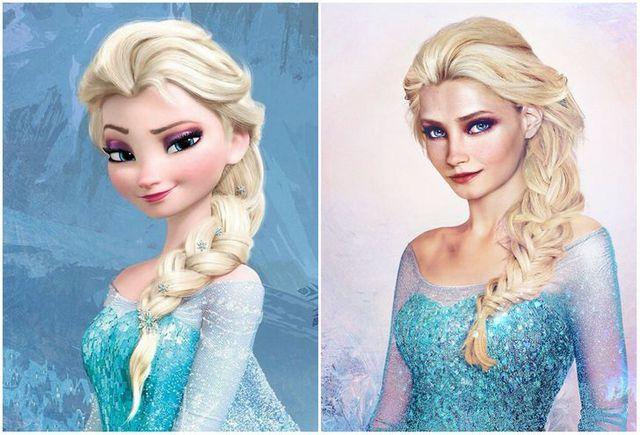 Khi những nàng công chúa, hoàng tử Disney bước từ phim ra đời thật trông càng quyến rũ bội phần - Ảnh 1.