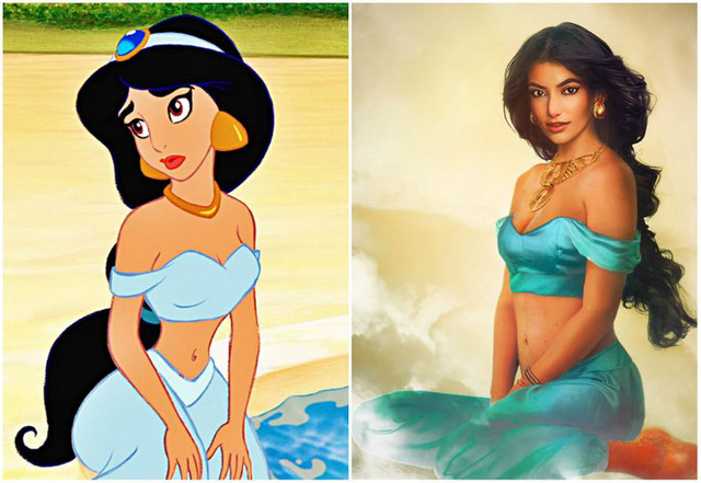 Khi những nàng công chúa, hoàng tử Disney bước từ phim ra đời thật trông càng quyến rũ bội phần - Ảnh 2.