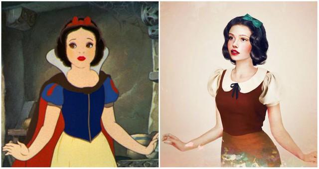 Khi những nàng công chúa, hoàng tử Disney bước từ phim ra đời thật trông càng quyến rũ bội phần - Ảnh 8.