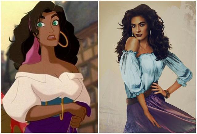 Khi những nàng công chúa, hoàng tử Disney bước từ phim ra đời thật trông càng quyến rũ bội phần - Ảnh 9.