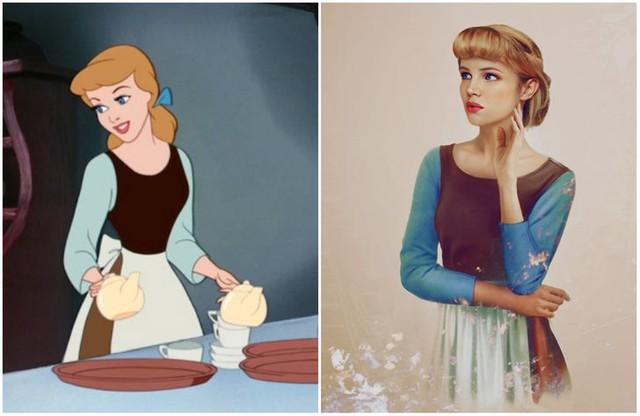 Khi những nàng công chúa, hoàng tử Disney bước từ phim ra đời thật trông càng quyến rũ bội phần - Ảnh 10.