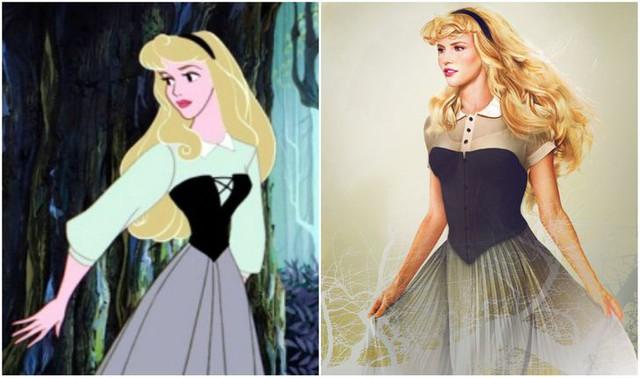 Khi những nàng công chúa, hoàng tử Disney bước từ phim ra đời thật trông càng quyến rũ bội phần - Ảnh 13.