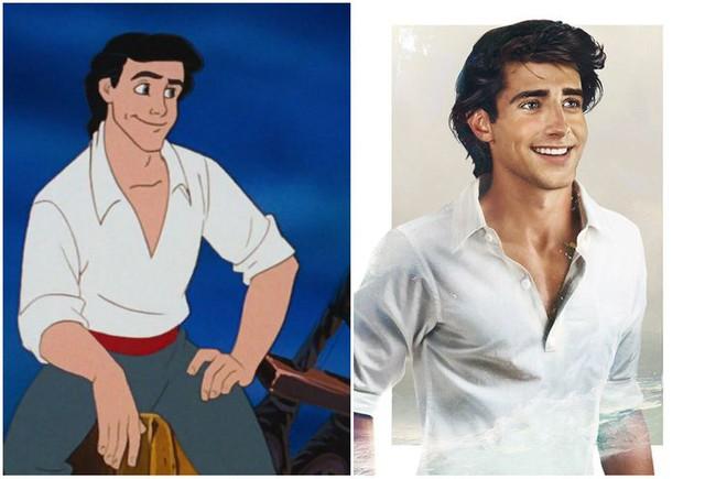 Khi những nàng công chúa, hoàng tử Disney bước từ phim ra đời thật trông càng quyến rũ bội phần - Ảnh 15.