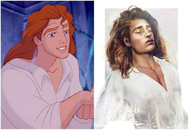 Khi những nàng công chúa, hoàng tử Disney bước từ phim ra đời thật trông càng quyến rũ bội phần - Ảnh 16.
