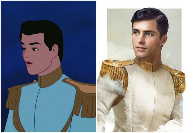 Khi những nàng công chúa, hoàng tử Disney bước từ phim ra đời thật trông càng quyến rũ bội phần - Ảnh 17.