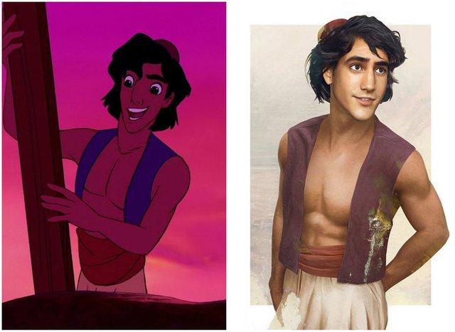 Khi những nàng công chúa, hoàng tử Disney bước từ phim ra đời thật trông càng quyến rũ bội phần - Ảnh 18.
