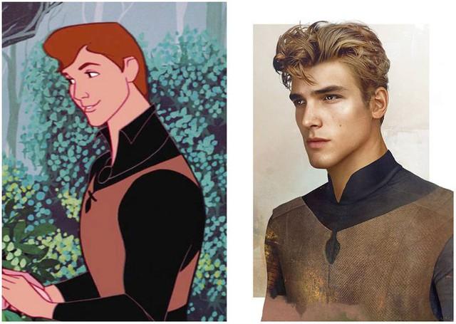 Khi những nàng công chúa, hoàng tử Disney bước từ phim ra đời thật trông càng quyến rũ bội phần - Ảnh 20.