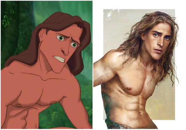 Khi những nàng công chúa, hoàng tử Disney bước từ phim ra đời thật trông càng quyến rũ bội phần - Ảnh 21.